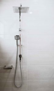 Two-way rainfall shower
